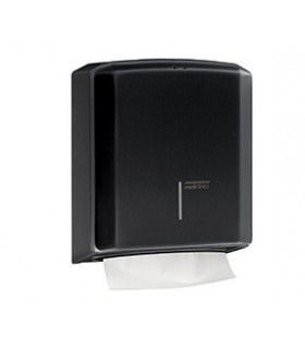 Диспенсер для бумажных полотенец PAPER TOWEL DISPENSER WITH C/Z (черный)