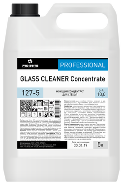Glass cleaner concentrate 5 л